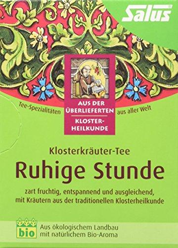 Salus Ruhige Stunden Klosterkräuter-Tee, 3er Pack (3 x 27 g)