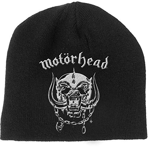 Motörhead Beanie Warpig Skull Logo Mütze Cap Strickmütze