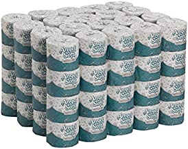 Angel Soft Professional Series Premium 2-Ply Embossed Toilet Paper by GP PRO (Georgia-Pacific), 16880, 450 Sheets Per Roll, 80 Rolls Per Case,White