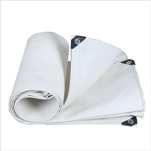 WATERPROOF CLOTH HOME Toile imperméable en toile blanche imperméable à l'eau de pluie, tapis de pique-nique pour bache de prougeection solaire imperméable à l'eau de pluie, isolation solaire de cargaiso