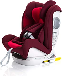 Baby Car Seat, Booster Car Seat Child Car Seat (0-12 Years Old,0-36Kg),Red