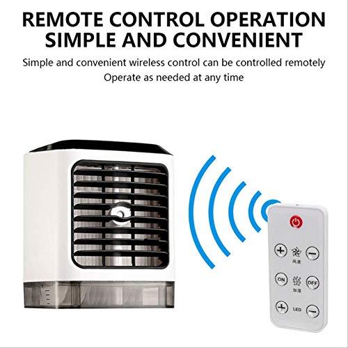 Sommer Usb Mini Klimaanlage Lüfter 4in1 7 Farben Led Tragbare Persönliche Luftkühler Luftbefeuchter Home Office Destktop Air Cool Tool A
