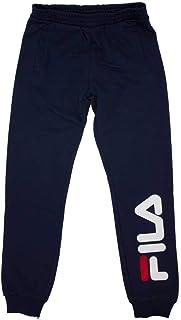 Fila Teens Patrizia Logo Jogger Pantalón de Vestir Unisex niños