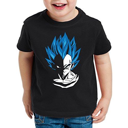 style3 Super Vegeta Blue God Mode T-Shirt pour Enfants, Talla:152