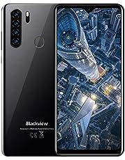 """Smartphone Offerta, Blackview A80 Plus Cellulari Offerte (2021), Android 10 Octa-core 4GB+64GB6.49"""" 19:9 HD+ Schermo, 4680mAh, Fotocamera 13MP+8MP, 4G Dual SIM/NFC/OTG/Sblocco dell'impronta+Face ID"""