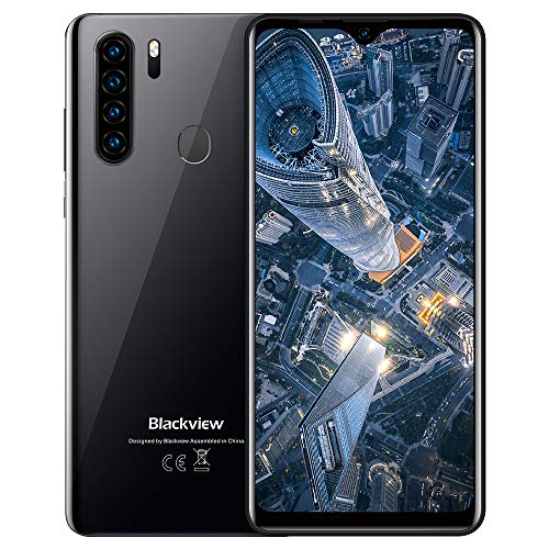 "Smartphone Offerta,Blackview A80 Plus Cellulari Offerte,Android 10 Octa-core 4GB+64GB,6.49""19:9 HD+ Schermo,4680mAh,13MP+8MP,Dual SIM/NFC/OTG/Face ID"