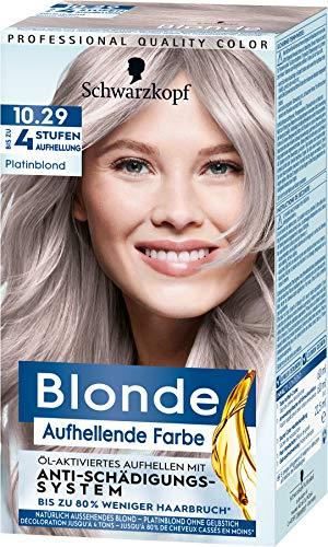 Blonde Aufhellende Farbe Platinblond 10.29, 142 ml