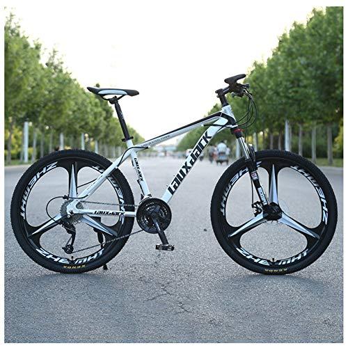 LDLL Deportes Bicicleta de montaña 26 Pulgadas 3 Cortador, Freno de Disco...
