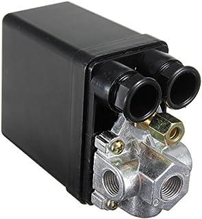 Válvula De Control 90-120Psi Del Interruptor De Presión Del Compresor De Aire Resistente LaDicha