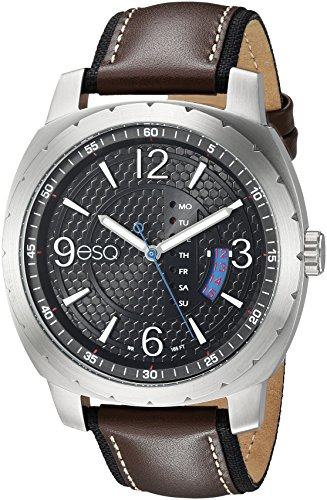 ESQ Men's Casual Stainless Steel...