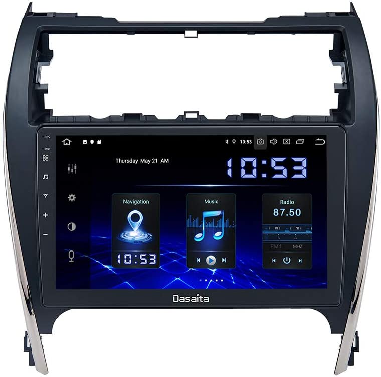 Dasaita Android 10.0 Car Stereo for Toyota Camry 2012 2013 2014 Radio with 10.2