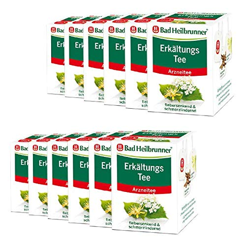 Bad Heilbrunner® Erkältungstee - 12er Pack