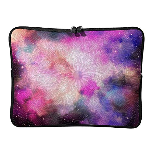 5 Sizes Magical Navy Laptop Bags Large - Bohemian Laptop Cover Suitable for Outdoor white2 15inch