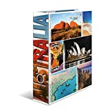 HERMA 7006 Motiv-Ordner DIN A4 Globetrotter Australia, 7 cm breit aus stabilem Karton mit Australien Innendruck, Ringordner, Aktenordner, Briefordner, 1 Ordner