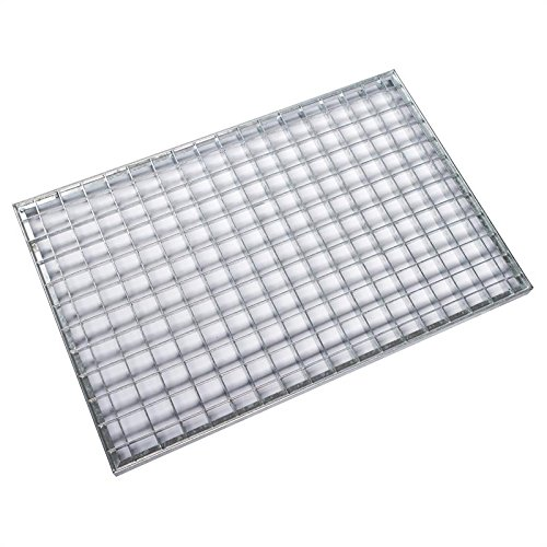 Einpress Gitterrost DIN 24537 verschiedene Größen Rost Lichtschacht Lichtgitterrost Podest (1000 x 500 mm)