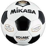 ミカサ(MIKASA) サッカーボール 5号 日本サッカー協会 検定球 (一般・大学・高生・中学生用) ホワイト/ブラック SVC50VL-WBK