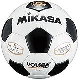 ミカサ(MIKASA) サッカーボール 5号 SVC50VL-WBK 日本サッカー協会 検定球 (一般・大学・高生・中学生用) ホワイト/ブラック