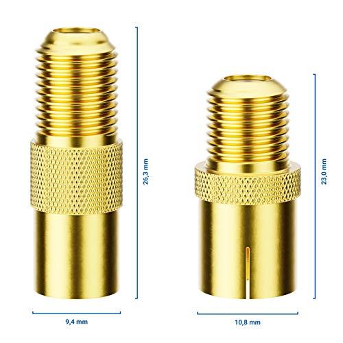 deleyCON Sat Adaptateur Set Connecteur F au Câble d'Antenne Couplage F Couplage Coaxial Prise F sur 1x IEC Fiche d'Antenne et 1x Prise d'Antenne IEC