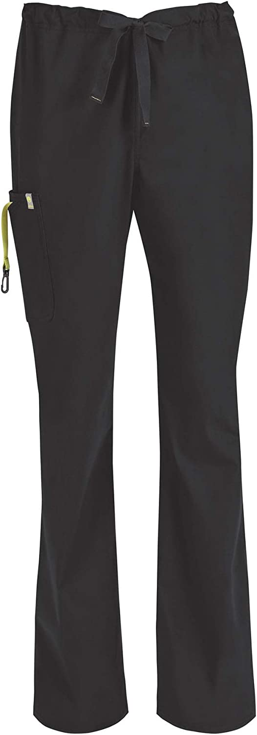 Code Happy Big and Tall Bliss W/Certainty Men's Drawstring Scrub Cargo Pant Big & Tall