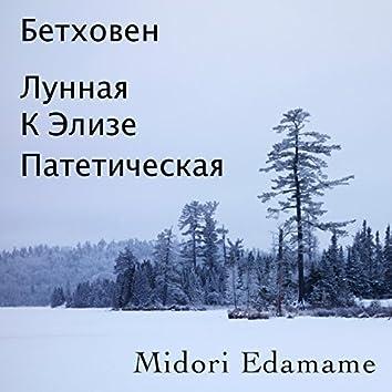 Бетховен: Лунная / К Элизе / Патетическая