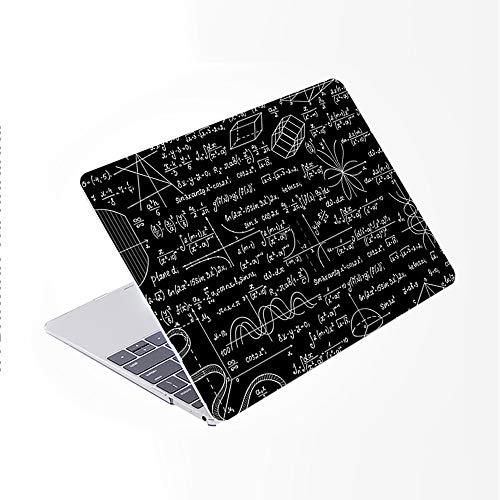 SDH Funda para MacBook Pro de 16 pulgadas 2019 lanzamiento A2141,funda de ordenador portátil y cubierta de teclado para Mac Pro 16 pulgadas Retina Touch Bar e ID 4 en 1 paquete, Blackboard Book 15