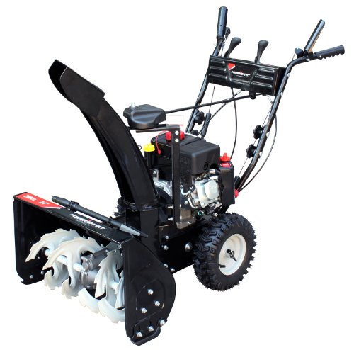 Hot Sale Power Smart DB7659A 24-inch 208cc LCT Gas Powered 2-Stage Snow Thrower with Electric Start