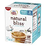 Coffee-Mate Natural Bliss Liquid Creamer Singles Tubs, Vanilla, 24 Count