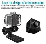 Tianu SQ12 - Mini cámara de visión nocturna resistente al agua HD 1080P con lente DVR para...