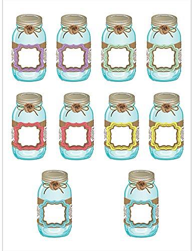 Teacher Created Resources Shabby Chic Mason Jars Accents (77191)