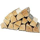legna da ardere selezione 5-90 kg per stufa e camino braciere griglia cestello per il fuoco ceppi 25 cm flameup, numero:15 kg