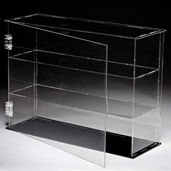 Waterproof Transparent Acrylic Display Case Miniatures Toys Protective Box
