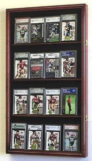 کابینه مورد نمایش ورزشی / کارت های قابل جمع بندی درجه بندی شده