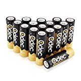 Odec AA Piles Rechargeables 2450 mAh, Accus 1,2V Ni-MH, 1200 cycles de...