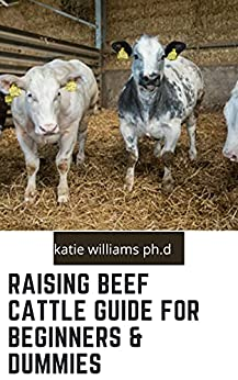 Raising Beef Cattle Guide for Beginners & Dummies : Comprehensive Guide on Cow Production, Fencing, Feeding, Handling, Breeding and more by [KATIE WILLIAMS PH.D ]