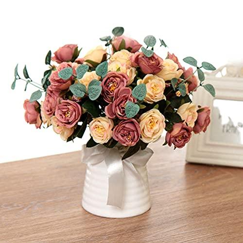 Flores Artificiales Cementerio Baratas flores artificiales  Marca EANLOLY