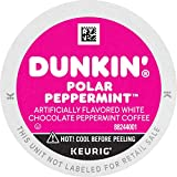 Dunkin' Polar Peppermint Flavored Coffee, 88 Keurig K-Cup Pods