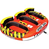 Sportsstuff Speedzone 3 | 1-3 Rider Towable Tube for Boating