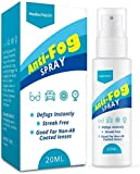 Best Anti Fog Sprays - HealexVazzin Anti Fog Spray for Glasses, Long Lasting Review