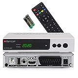 Ricevitore satellitare RED OPTICUM AX 300 S Plus I Ricevitore satellitare digitale HD - DVB-S2 HDMI SCART USB 2.0 Coassiale Audio I Alimentatore 12V ideale per campeggio