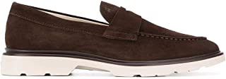 Luxury Fashion | Hogan Men HXM3930X231HG0S807 Brown Suede Loafers | Spring-summer 20