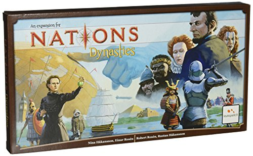 Asmodee editions Nations: Dynasties, la expansión del Juego Dynasties, Multicolor, de la Marca