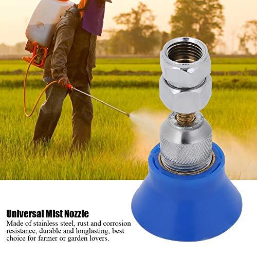 Boquilla universal de nebulización, boquilla de alta presión, pulverizador agrícola, boquilla de neblina flexible, pulverizador de atomización agrícola de alta presión, atomización extremadamente