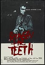 BETWEEN THE TEETH 27x40 Original Movie Poster One Sheet 1994 David Byrne