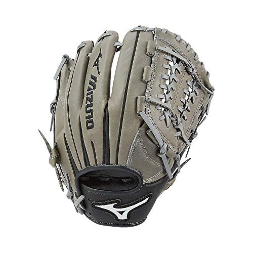 Mizuno GFN1175GB Franchise Series Infield Baseball Glove, 11.75', Right Hand Throw, Grey/Black Tartan Shock Web, Model:312594