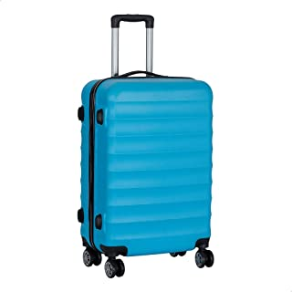 حقيبة سفر بعجلات من جيه بي، مقاس 24 - ازرق سماوي
