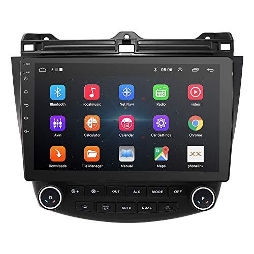 10.1 Pulgadas 2+32 GB Android 10 Car Audio Navegación GPS para Honda Accord 7 2003-2007 Unidad Principal Control de A/C...