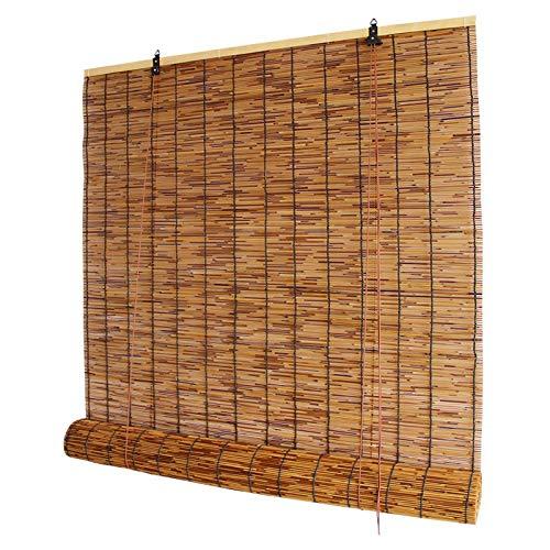 LKLXJ Bambusrollo Fenster, Bambus...