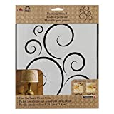FolkArt Large Painting Stencil, 30597 Simply Scroll