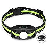 Bark Collar No Shock Bark Collar Rechargeable Anti Bark Collar Shockless with Adjustable