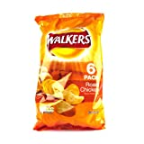 fried chicken chips - Walkers Roast Chicken Crisps 6 Pack 150g